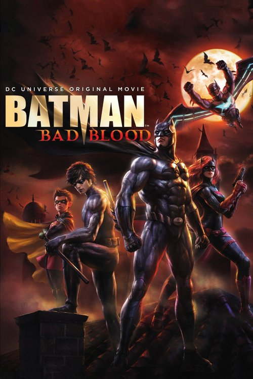 Batman Bad Blood 2016 PAL DVDR-BFHDVD