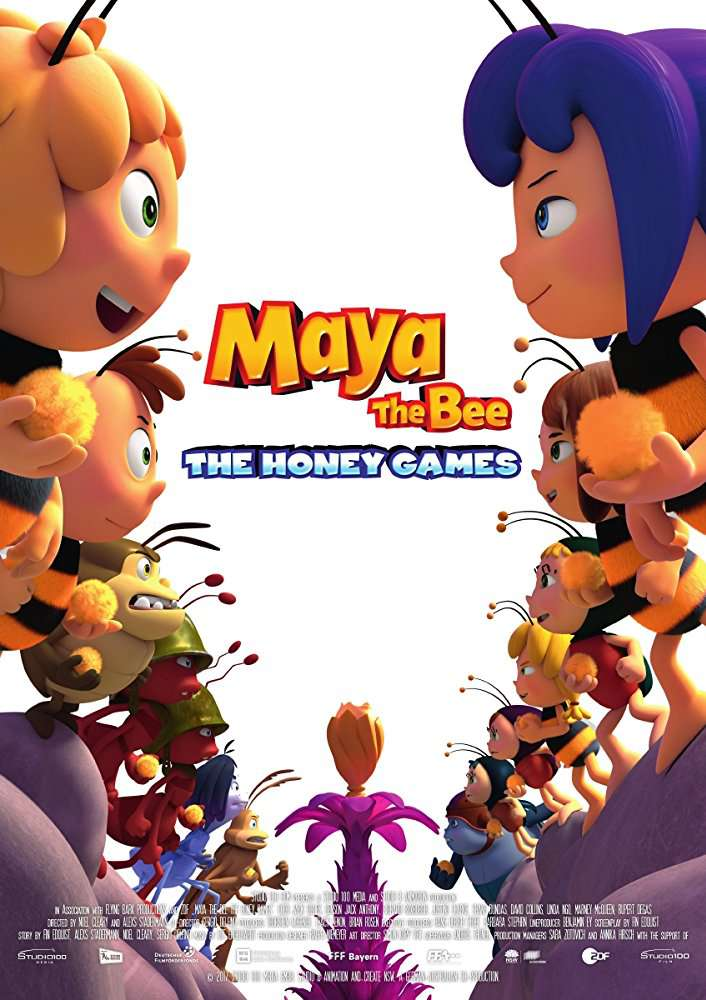 Maya the Bee The Honey Games (2018) [WEBRip] [720p] YIFY