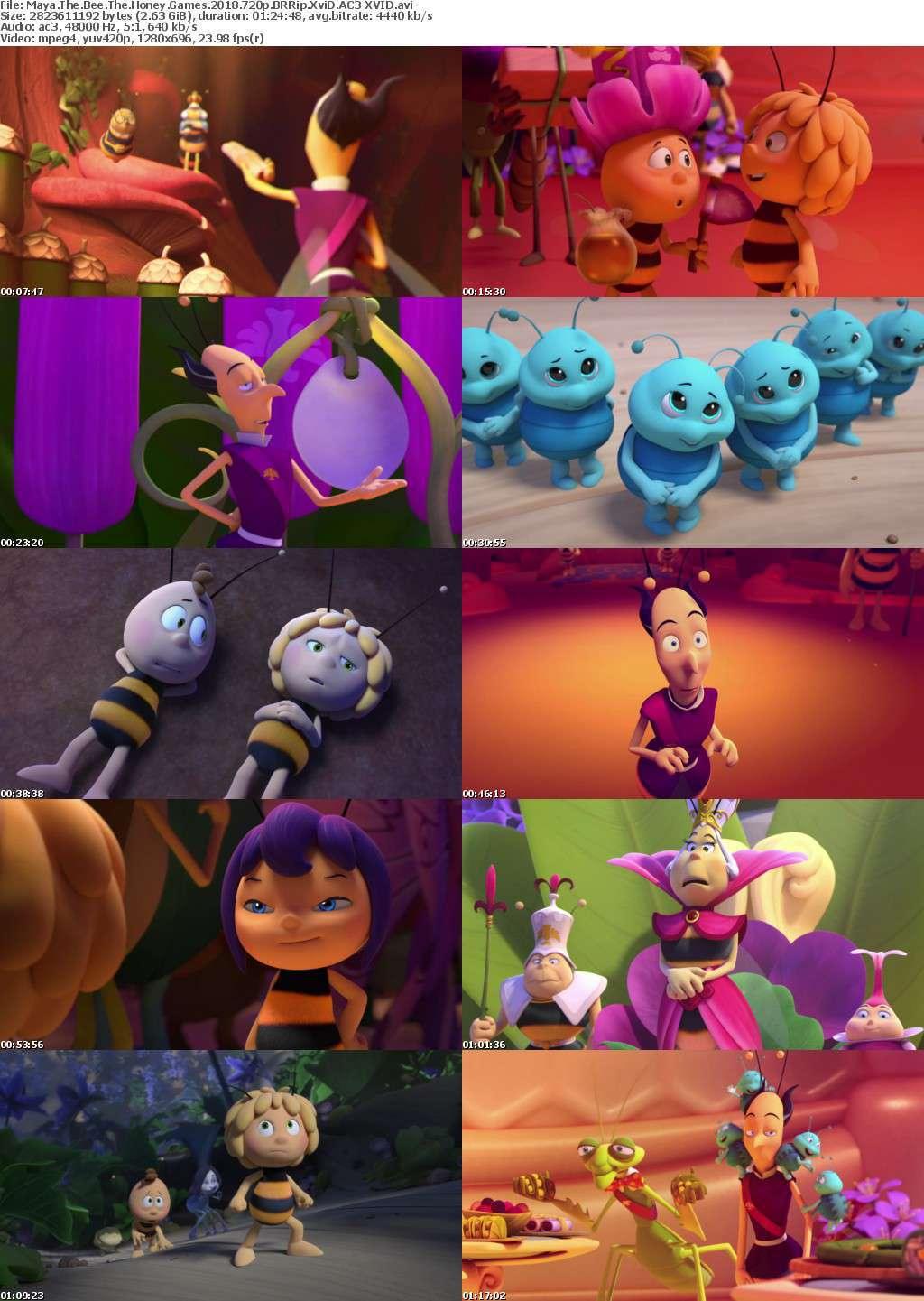 Maya The Bee The Honey Games 2018 720p BRRip XviD AC3-XVID