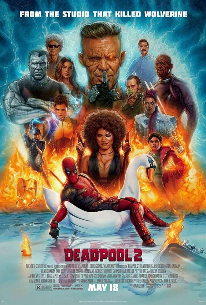 Deadpool 2 (2018) ENG HDTS - 720p - x264 - 850MB - MAK