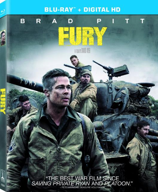 Fury (2014) 1080p BluRay H264 AC 3 Remastered-nickarad