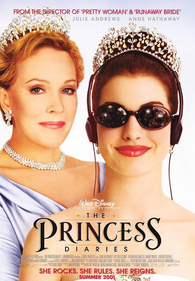 The Princess Diaries 2001 BRRip XviD MP3-XVID