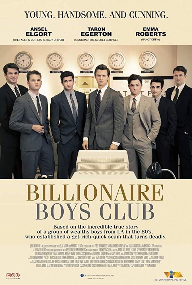 Billionaire Boys Club (2018) HDRip XViD-ETRG