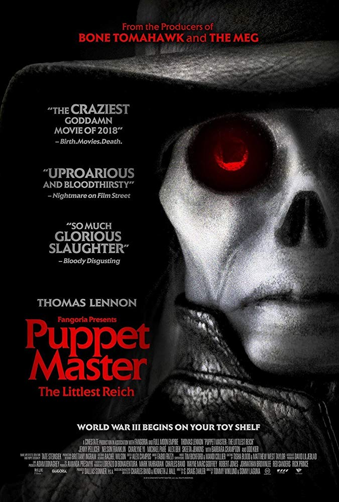 Puppet Master The Littlest Reich (2018) 1080p WEB-DL DD 5.1 x264 MW