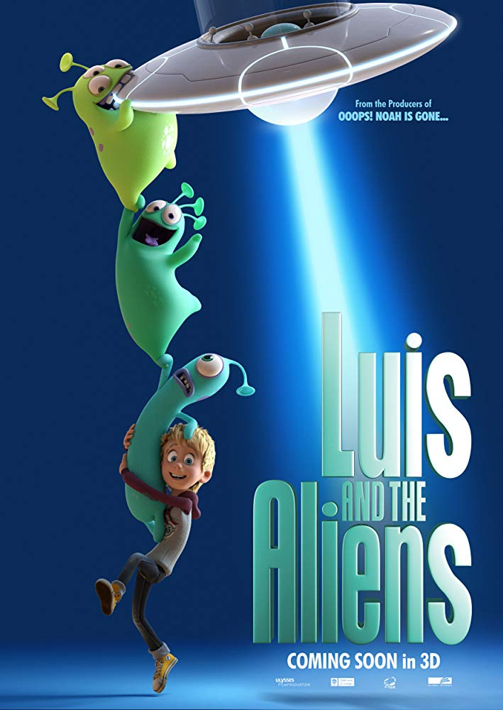 Luis and His Friends from Outer Space 2018 HDRip x264 [MW]