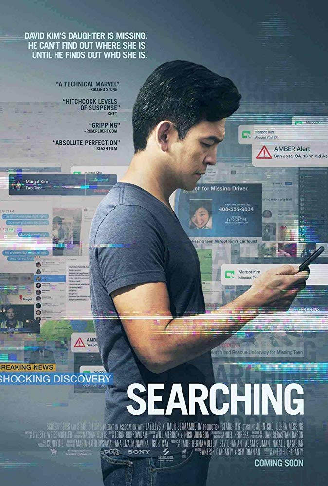 Searching (2018) HDRip HC XviD-AVID