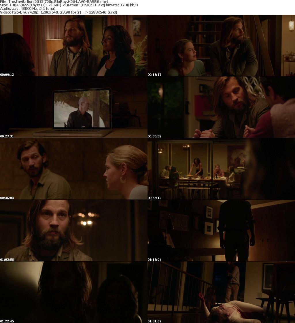 The Invitation (2015) 720p BluRay H264 AAC-RARBG