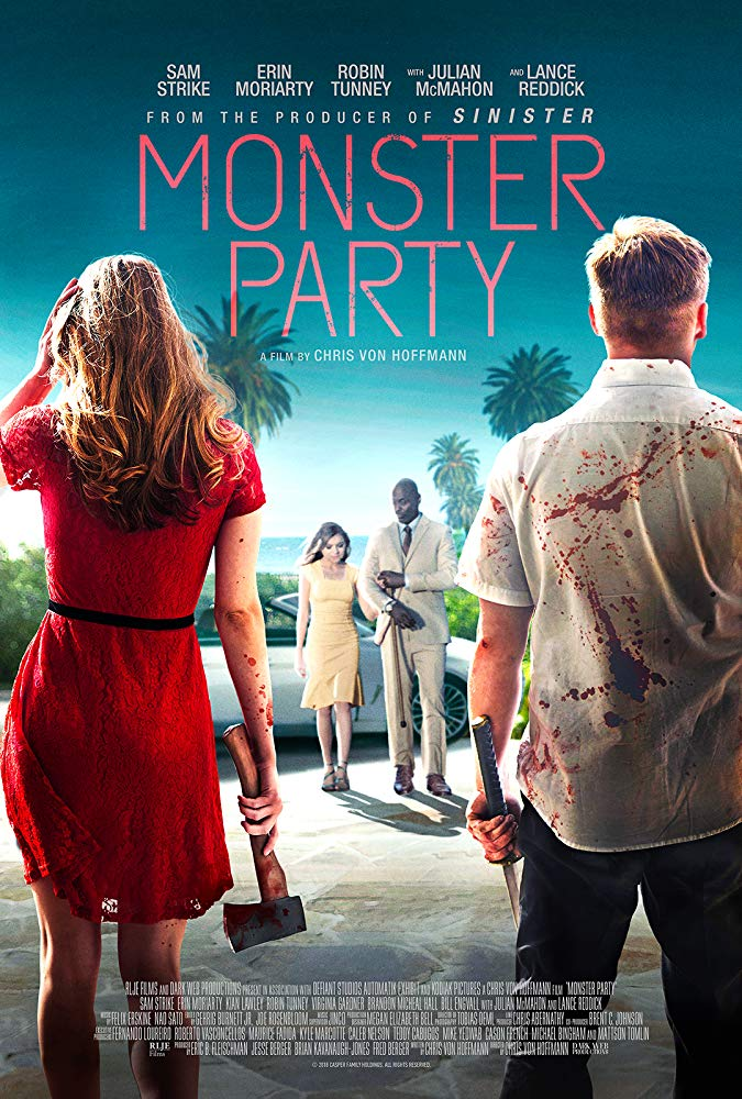 Monster Party (2018) HDRip XviD AC3-EVO