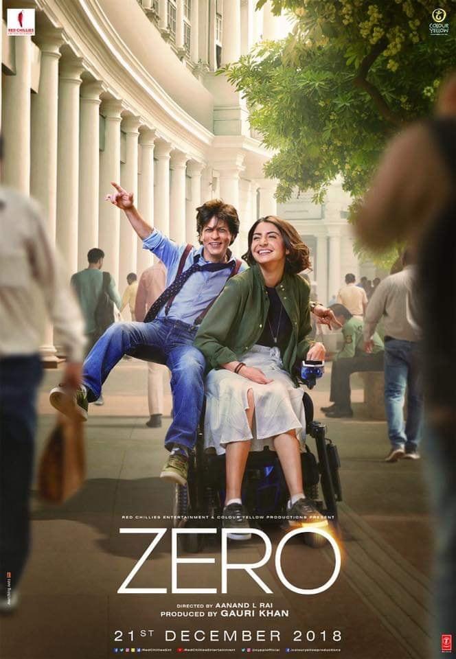 Zero 2018 Hindi 720p WEB Rip x264 AAC DD5 1 ESUBS Telly Exclusive