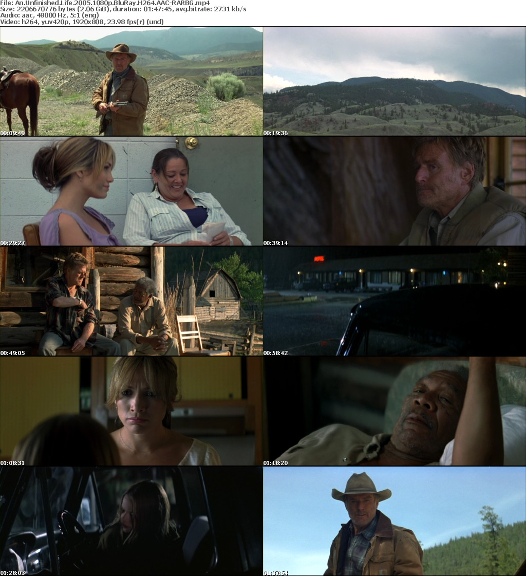 An Unfinished Life (2005) 1080p BluRay H264 AAC-RARBG
