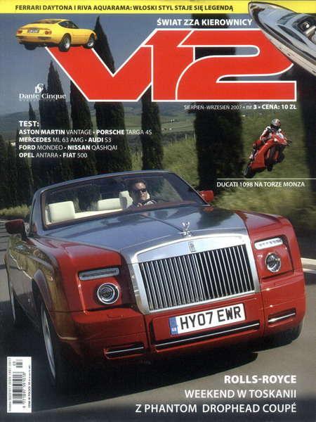 ŚWIAT ZZA KIEROWNICY V12 - Magazyn