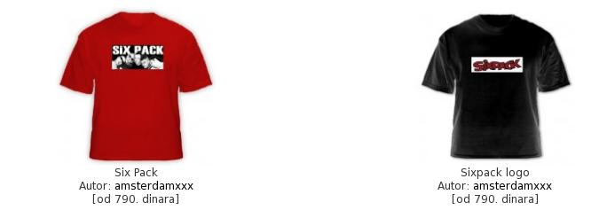 SixPack majice... 37291091368bf8525e348759b84e3ef52f20571