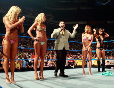 Michelle mccool bikini contest