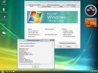 Sous Windows Xp Windows 7