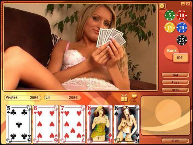 хентай игра карты на раздевания