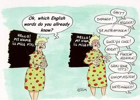 essaye encore anglais
