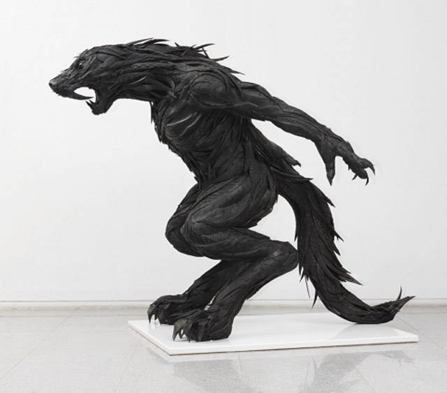 15 esculturas hechas con neumaticos Increible!