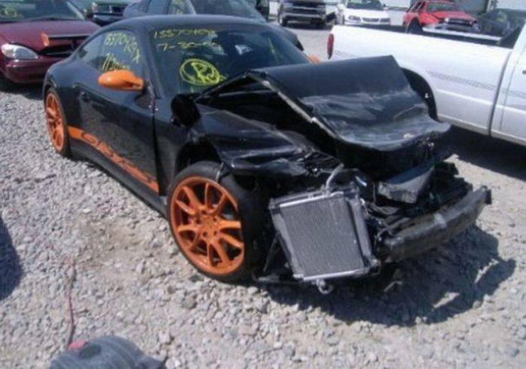 Wypadki najdroższych samochodów 30