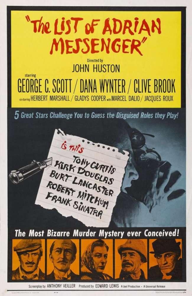 The List of Adrian Messenger 1963 DVDRip x264