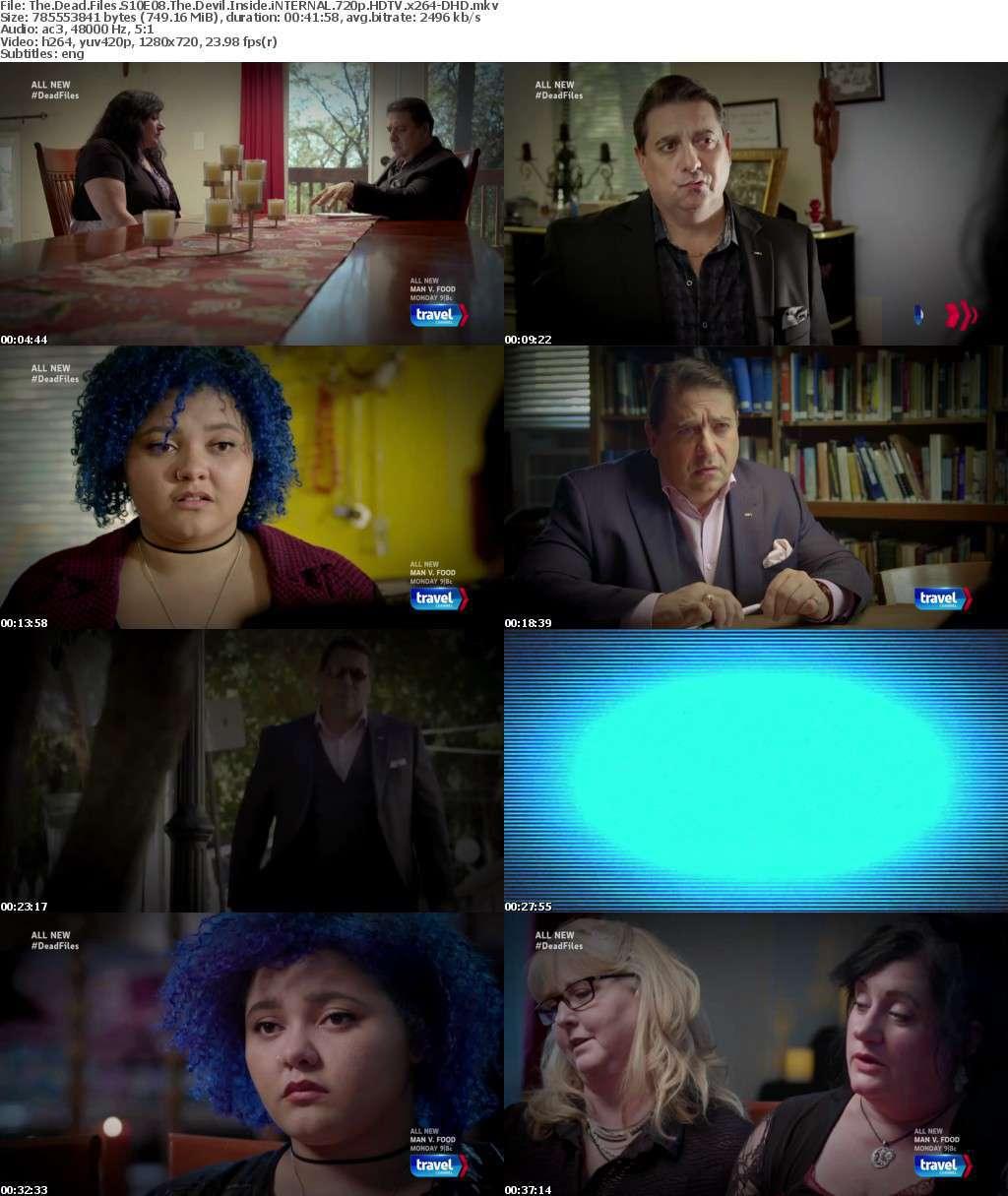 The Dead Files S10E08 The Devil Inside iNTERNAL 720p HDTV x264-DHD