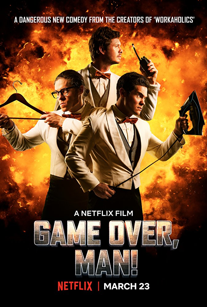 Game Over Man 2018 HDRip AC3 X264-CMRG