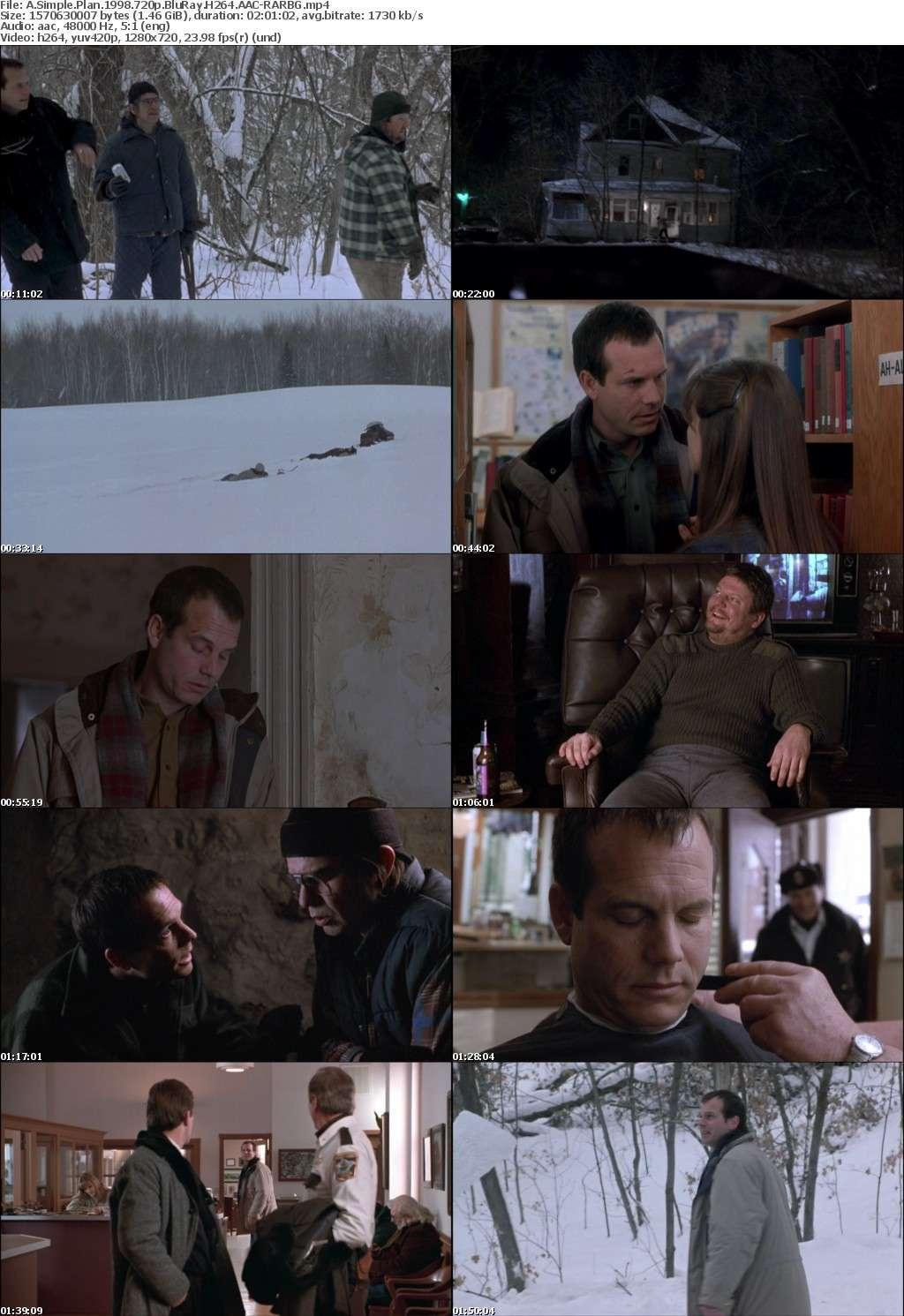 A Simple Plan 1998 720p BluRay H264 AAC-RARBG