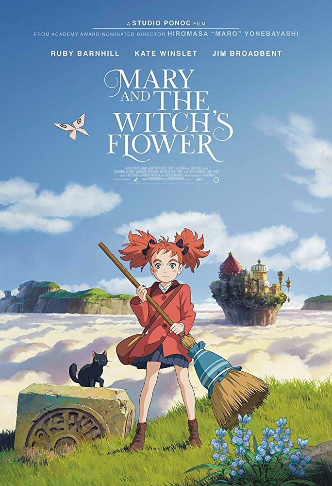 Mary and the Witch's Flower (2017) [BluRay] [720p] YIFY