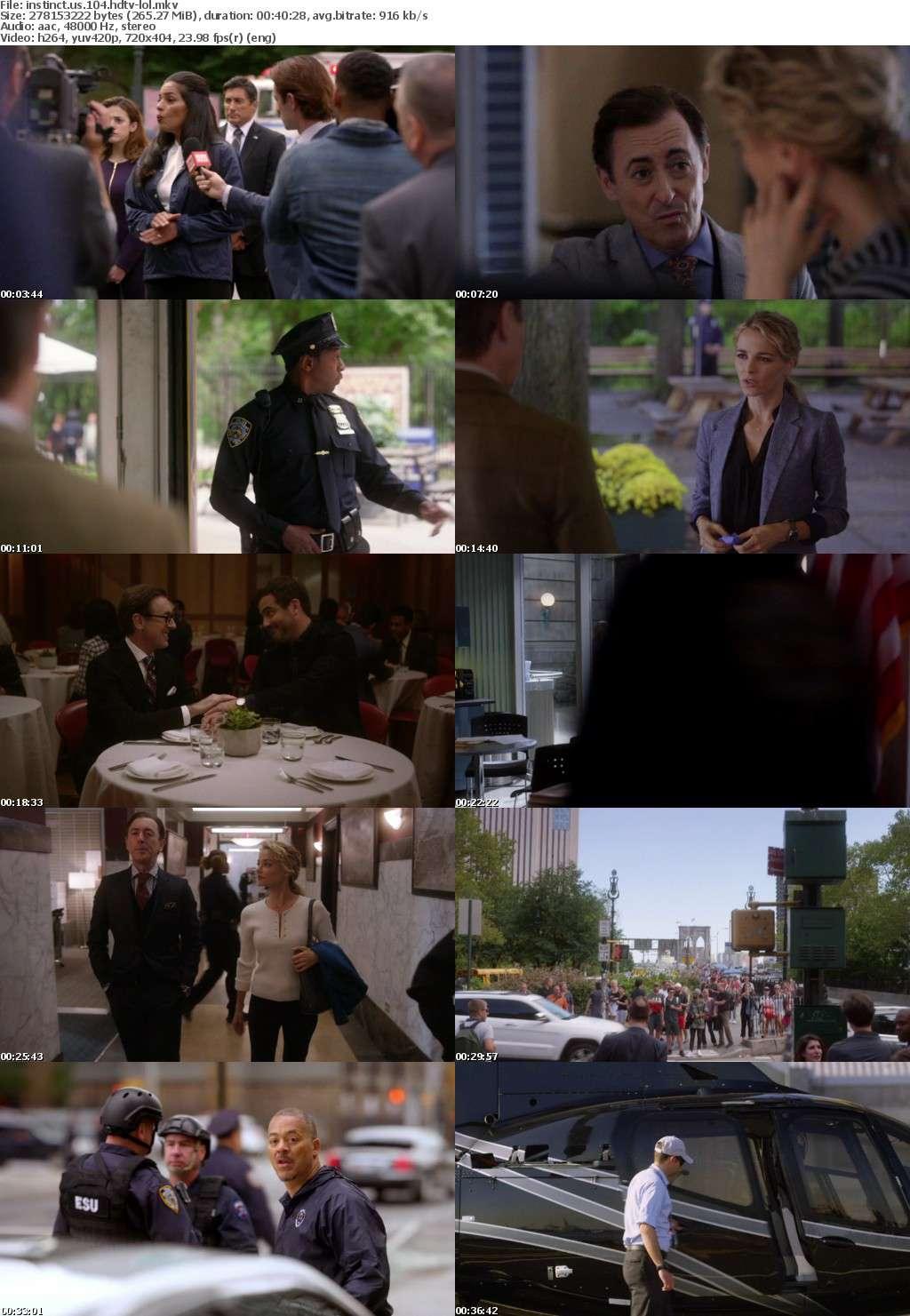 Instinct US S01E04 HDTV x264-LOL