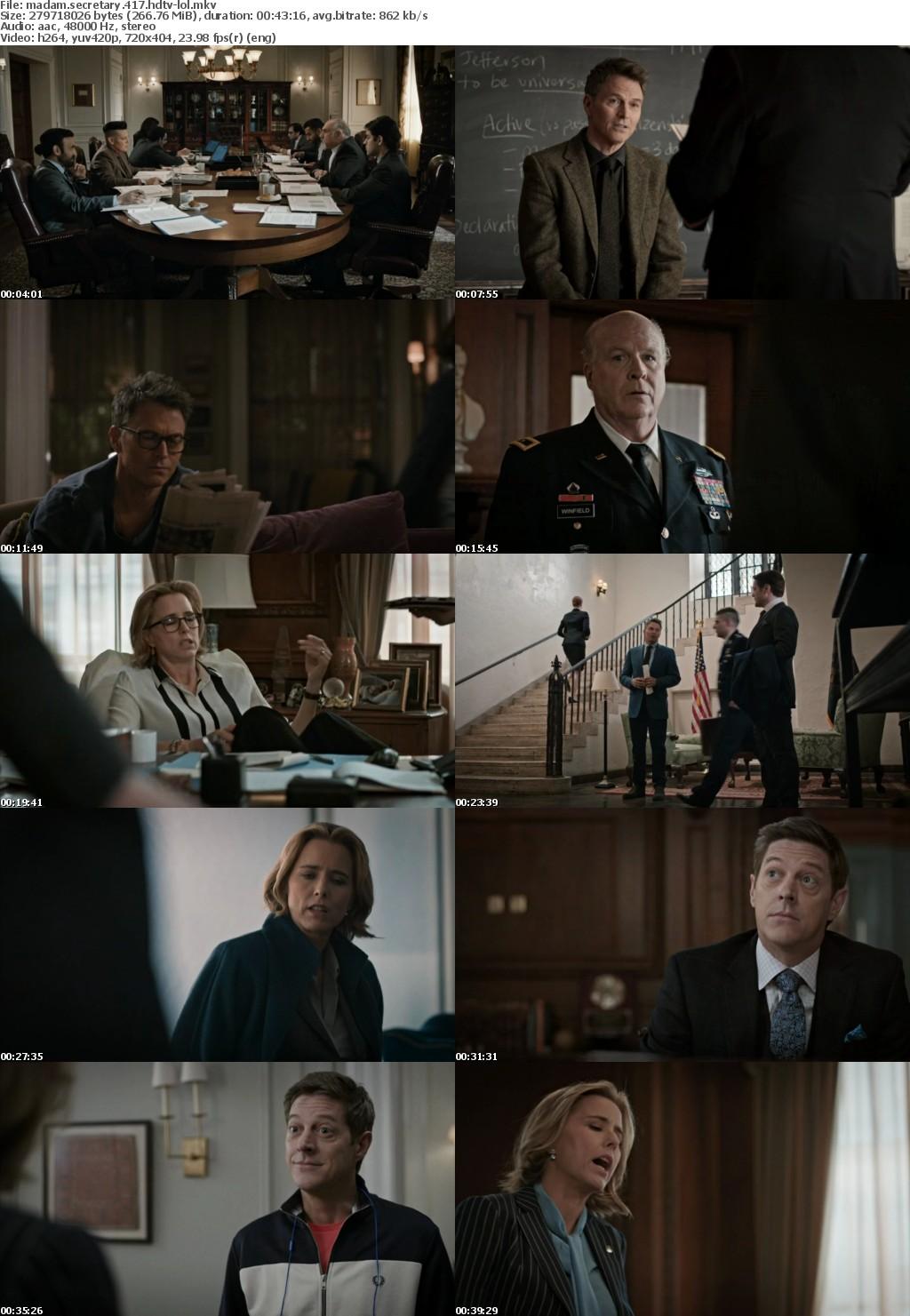 Madam Secretary S04E17 HDTV x264-LOL