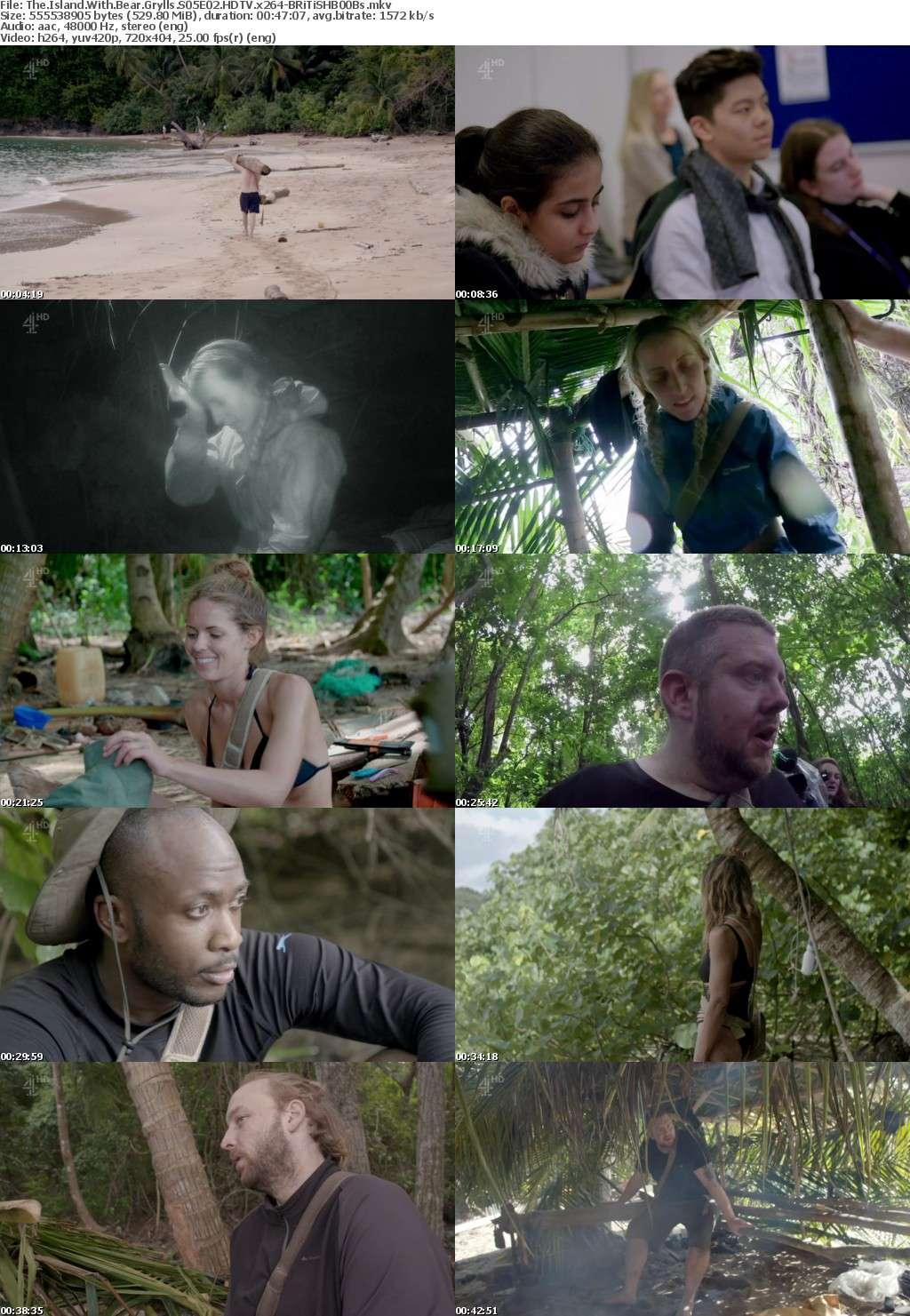 The Island With Bear Grylls S05E02 HDTV x264-BRiTiSHB00Bs