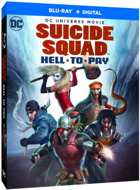 Suicide Squad Hell To Pay (2018) BRRip x264 5.1 ESubs-rDX
