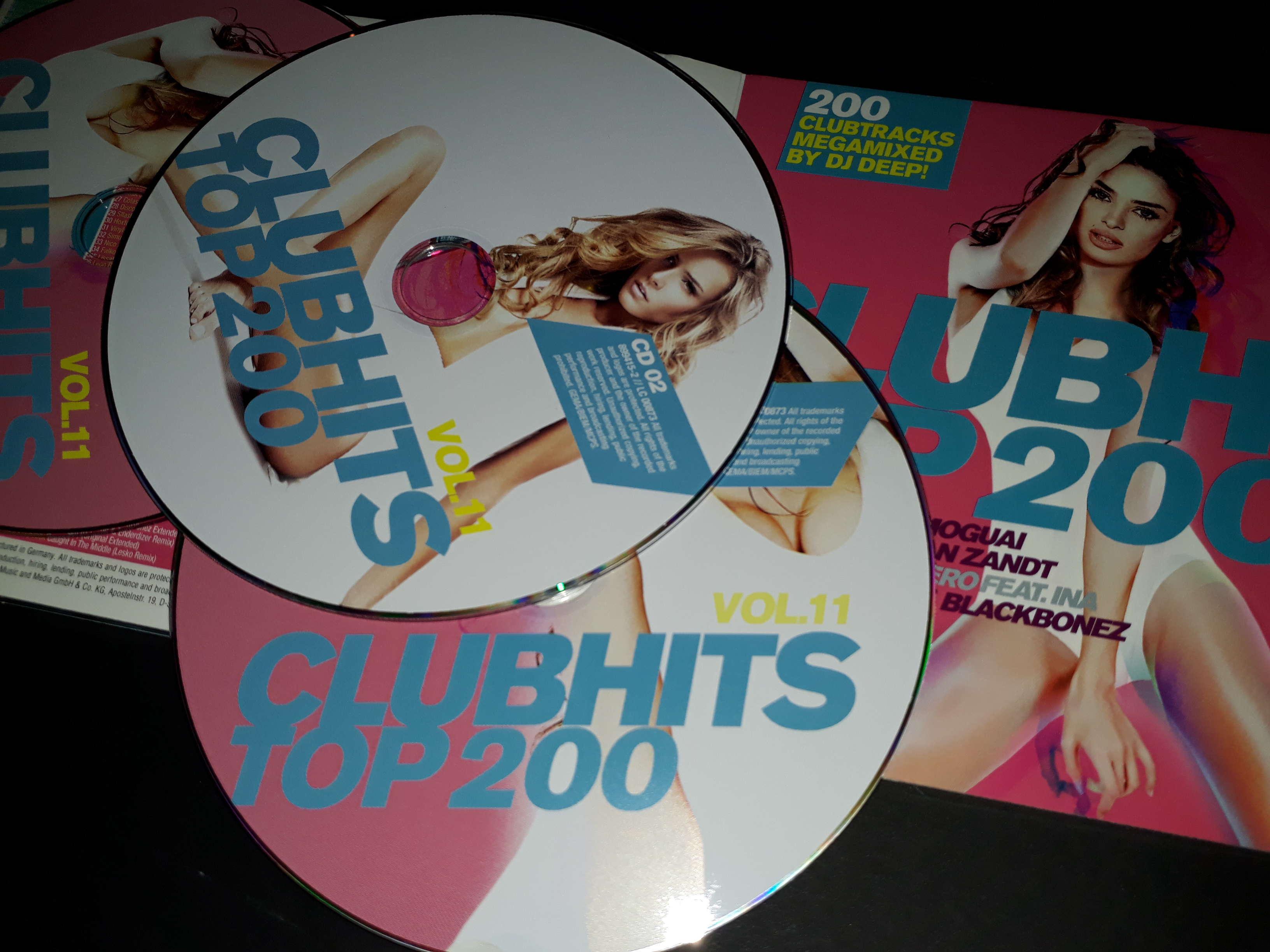 VA - Clubhits Top 200 [11] [3CD] (2018)