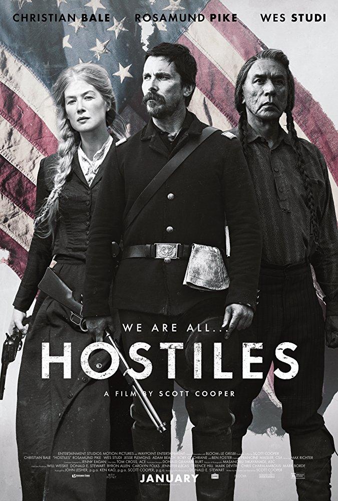 Hostiles 2017 720p BRRip X264 AC3-EVO