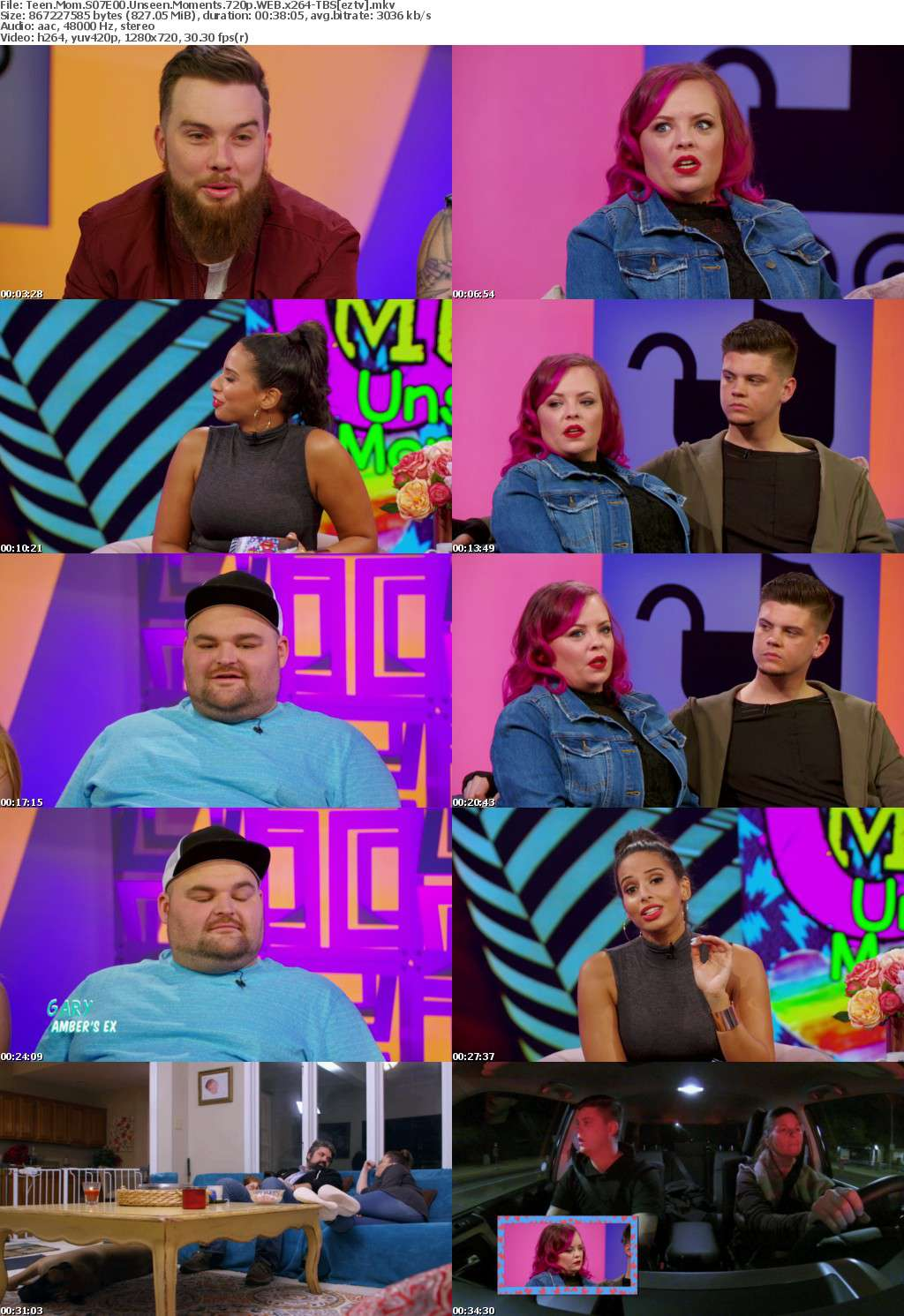 Teen Mom S07E00 Unseen Moments 720p WEB x264-TBS