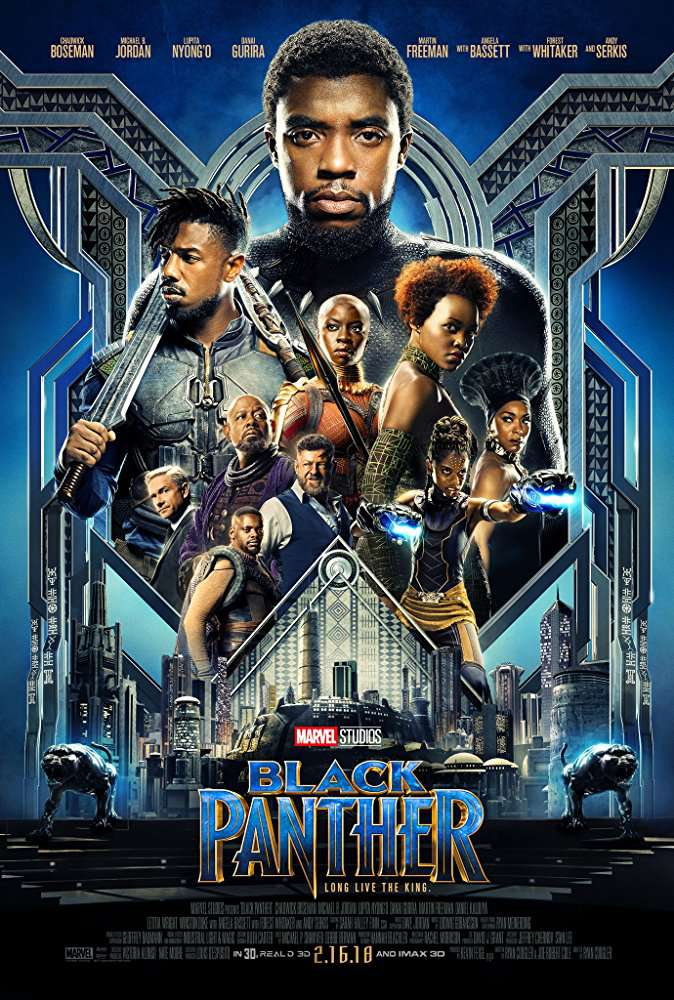Black Panther 2018 Movies 720p BluRay x264 AAC ESubs with Sample