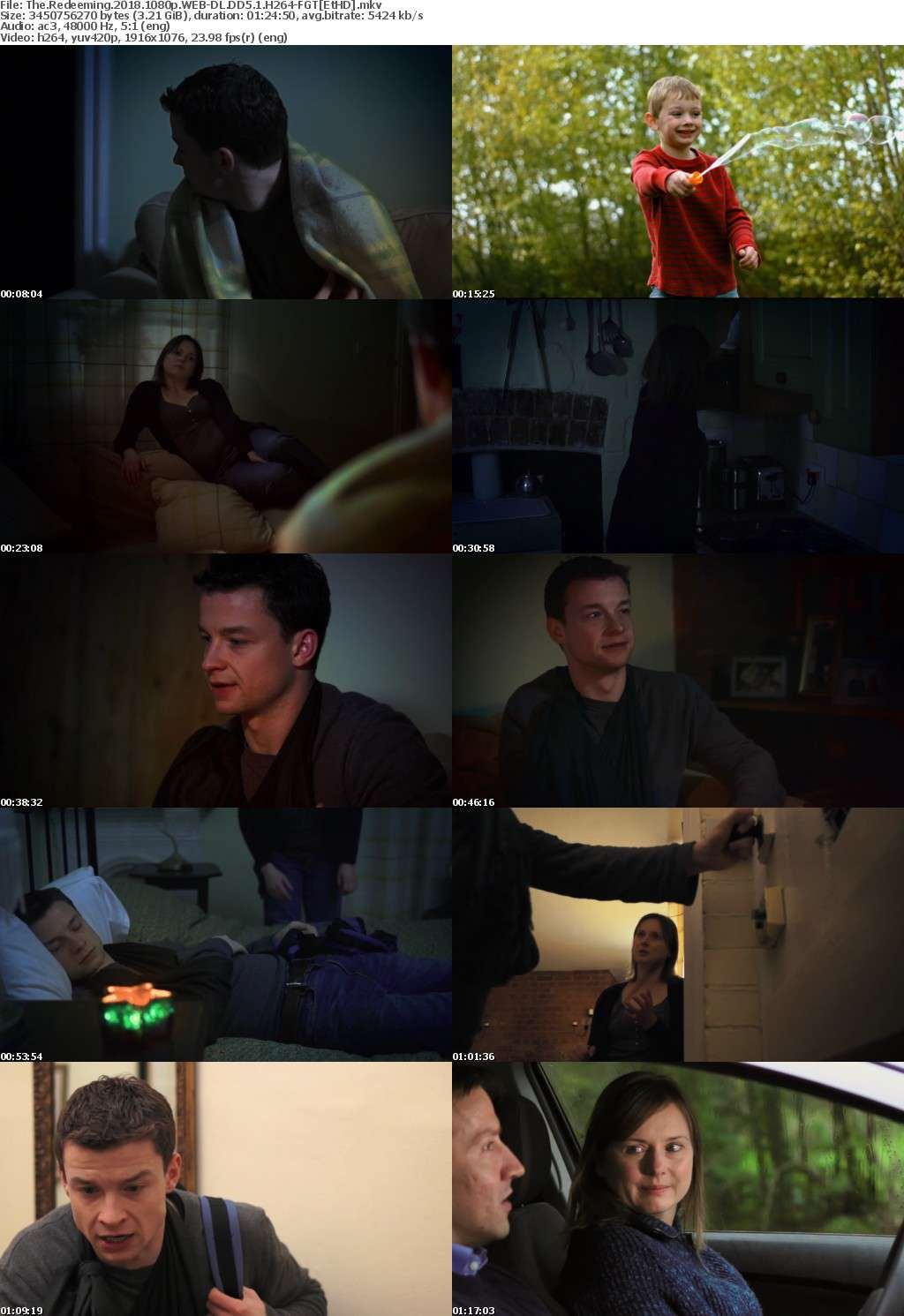 The Redeeming (2018) 1080p WEB-DL DD5.1 H264-FGT