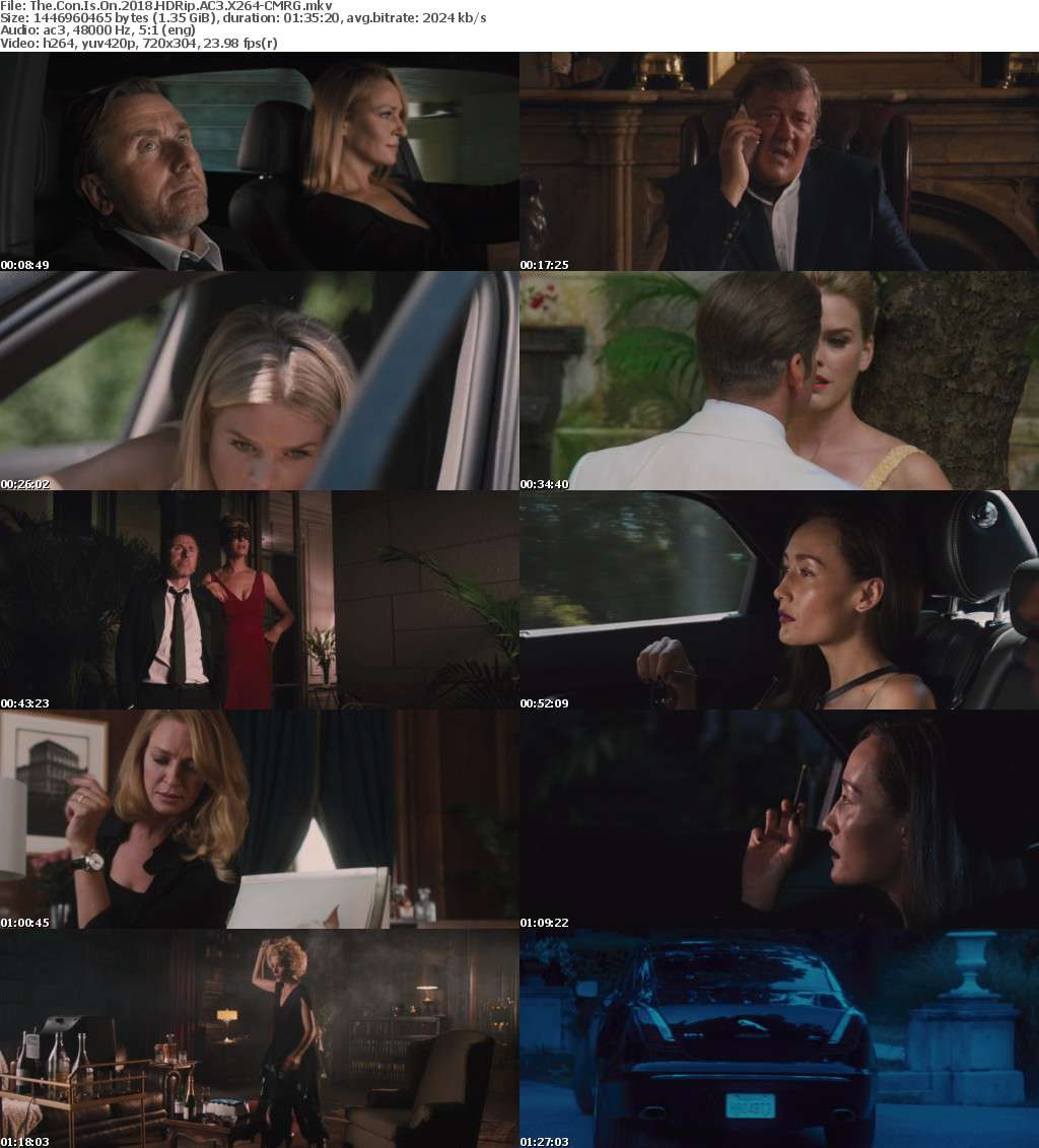 The Con Is On (2018) HDRip AC3 X264-CMRG