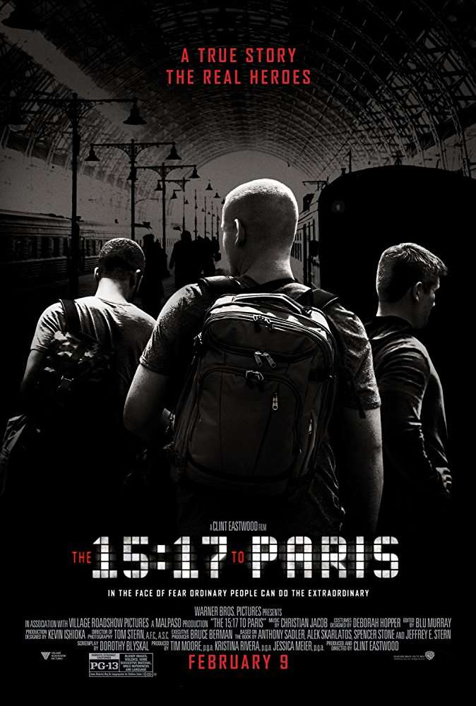 The 15 17 to Paris 2018 1080p BluRay x264-GECKOS