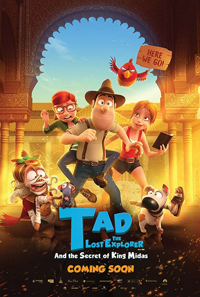 Tad the Lost Explorer and the Secret of King Midas 2017 BRRip AC3 X264-CMRG