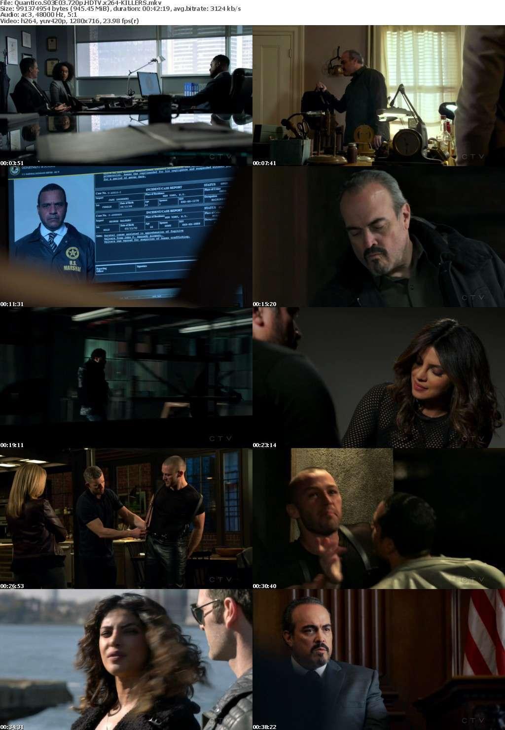 Quantico S03E03 720p HDTV x264-KILLERS