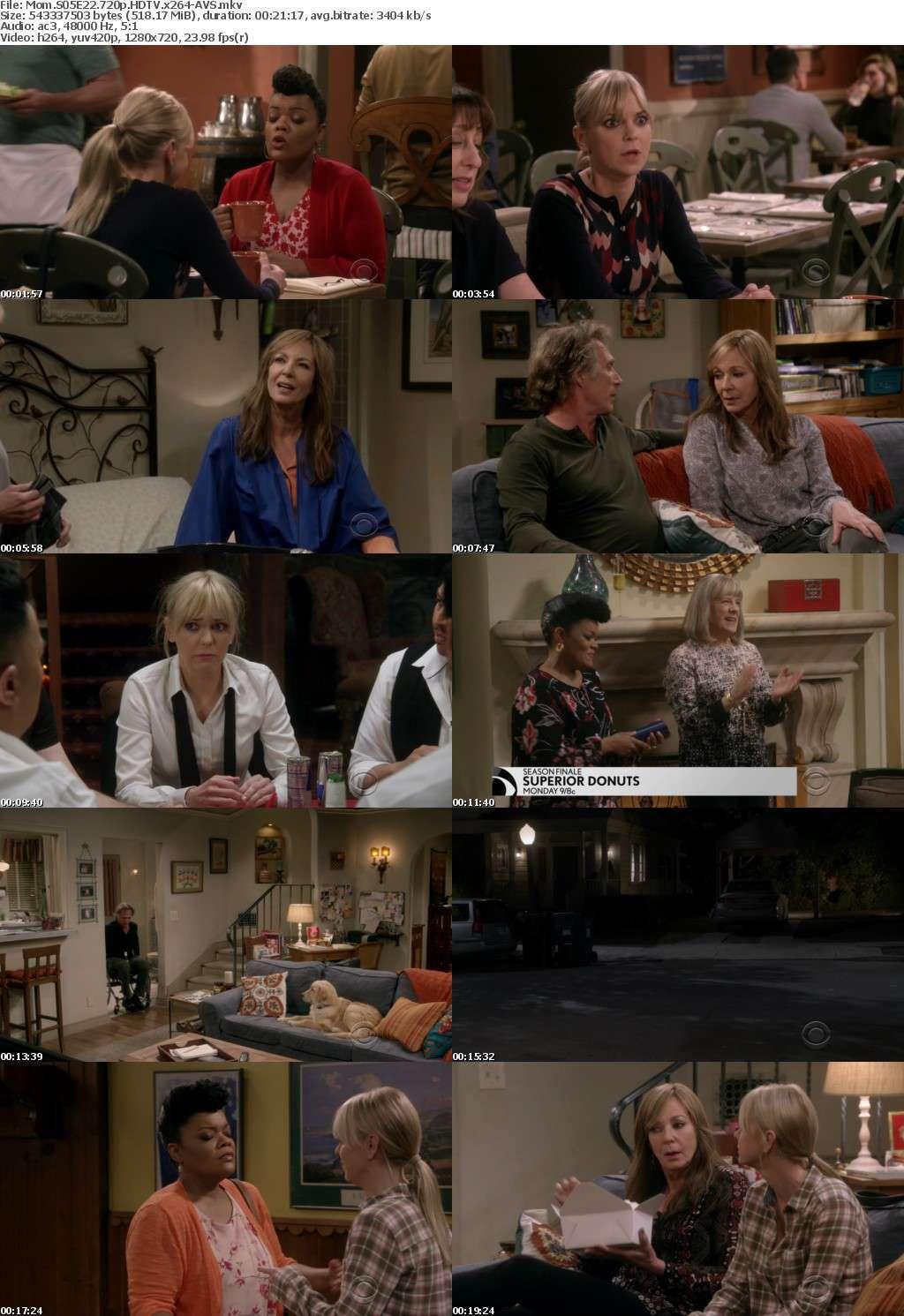 Mom S05E22 720p HDTV x264-AVS