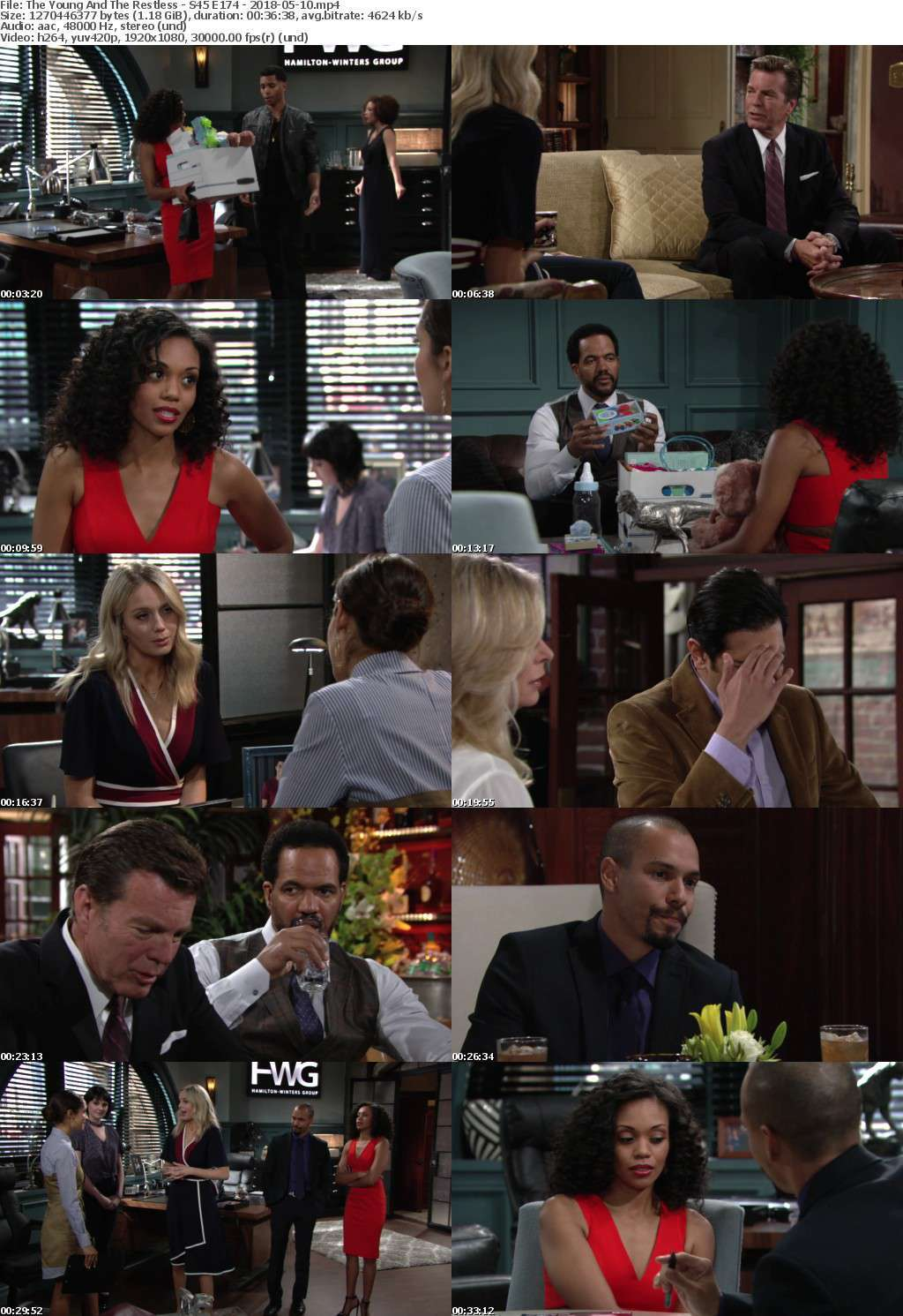 The Young And The Restless - S45 E174 - 2018-05-10