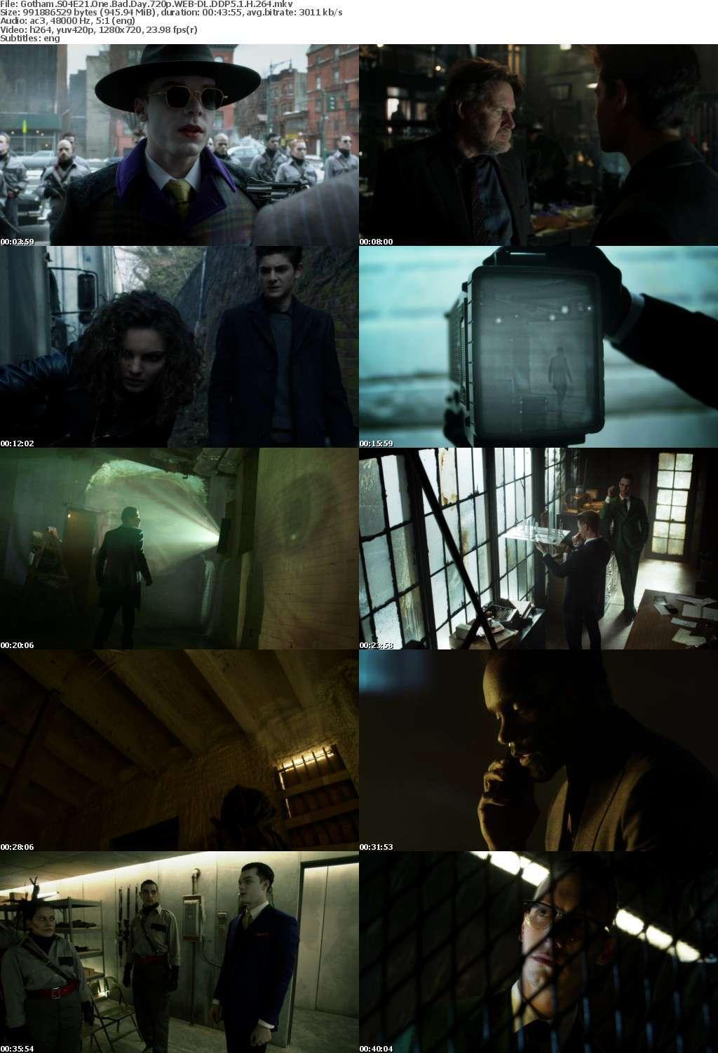 Gotham S04E21 One Bad Day 720p WEB-DL DDP5 1 H 264
