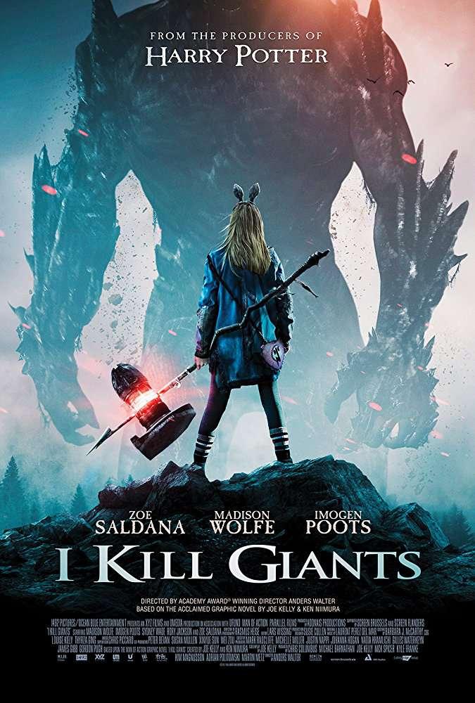 I Kill Giants 2017 720p BRRip AAC LLG