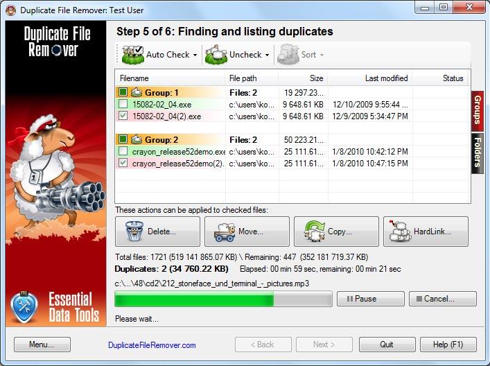 Duplicate File Remover 3.10.40 2018,2017 260803590fde43bf1e7e
