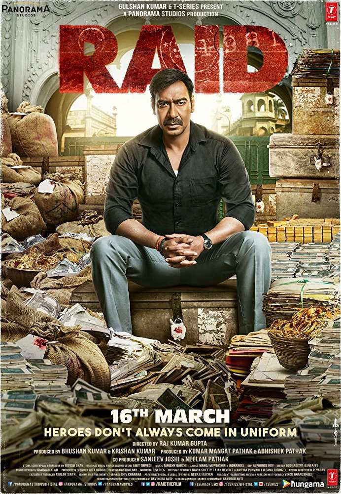 Raid (2018) Hindi 720p WEB-HD x264 ESub MW