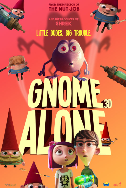 Gnome Alone 2017 HDRip XviD AC3-EVO