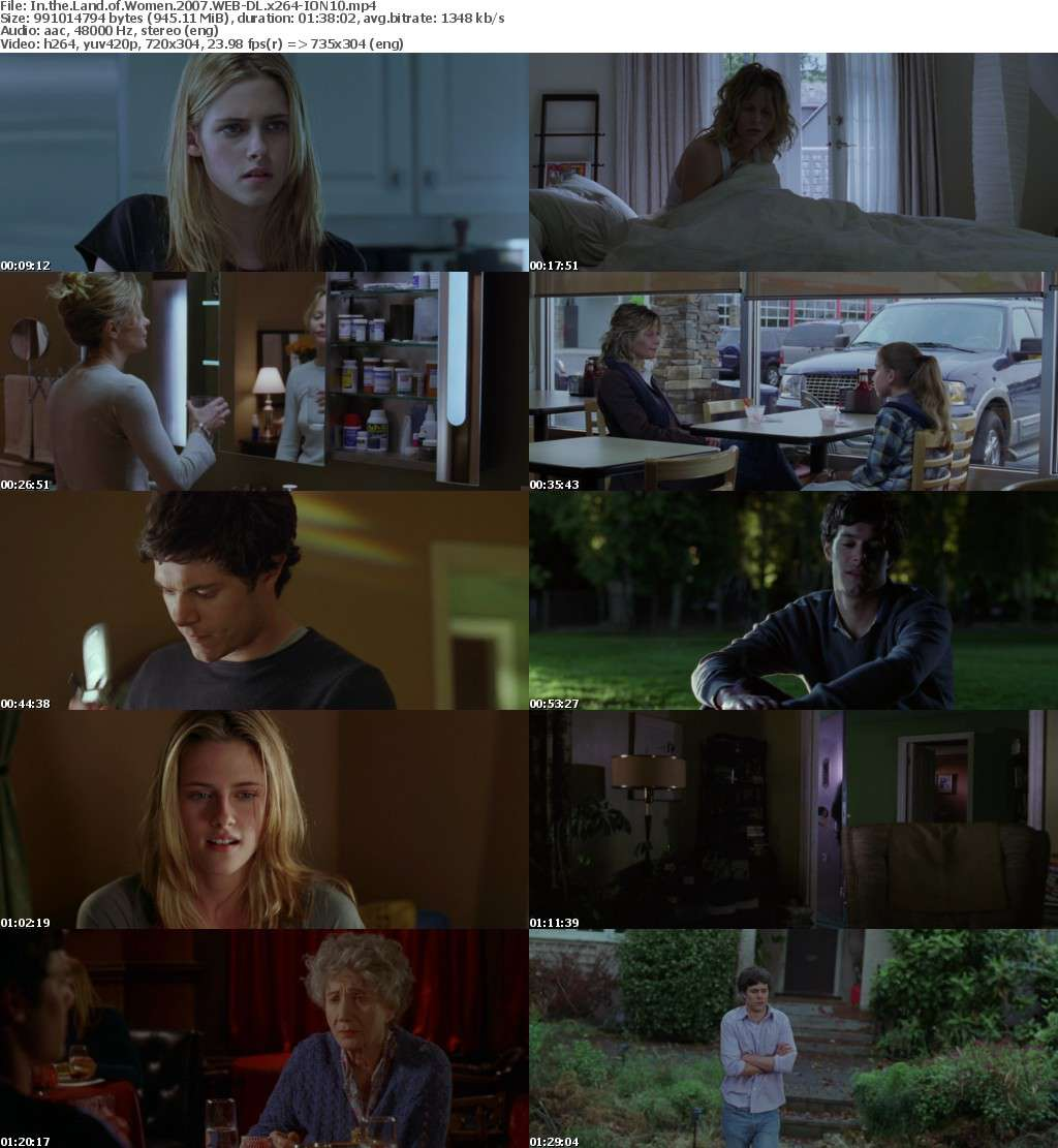 In the Land of Women 2007 WEB-DL x264-ION10