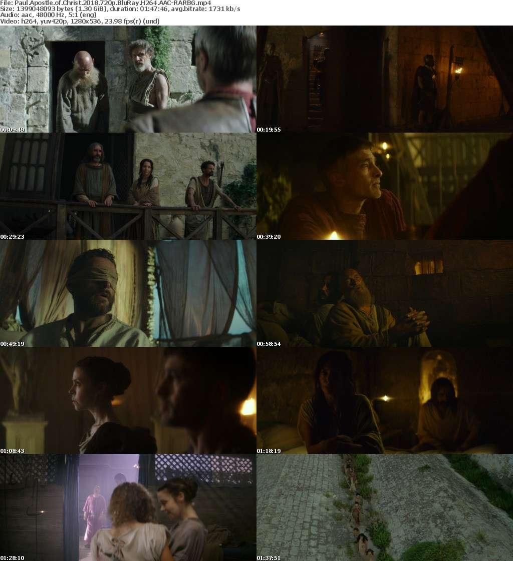 Paul Apostle of Christ 2018 720p BluRay H264 AAC-RARBG