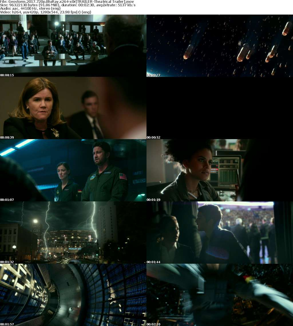 Geostorm 2017 720p BluRay x264-x0r